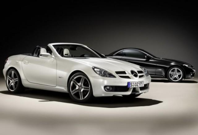Mercedes-Benz a lansat versiunea speciala SLK 2LOOK Edition