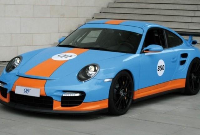 Porsche 911 GT2 de 850 CP preparat de 9ff