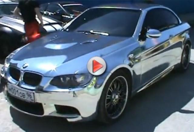VIDEO: BMW M3 cromat