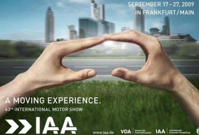 Afisul oficial al Salonului Auto de la Frankfurt!