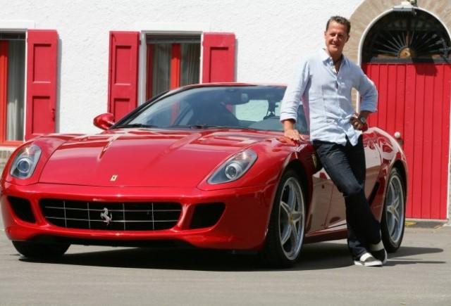 Schumacher a revenit pe circuit la bordul unui Ferrari 599 GTB HGTE