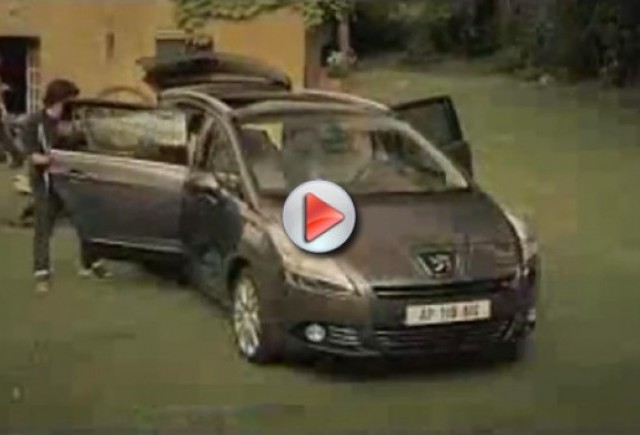 VIDEO: Noul Peugeot 5008 Compact MPV
