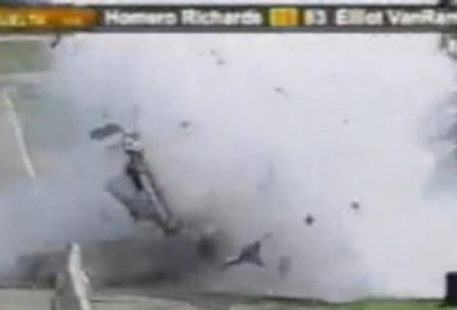 VIDEO: Accident mortal in Nascar, la 220 km/h