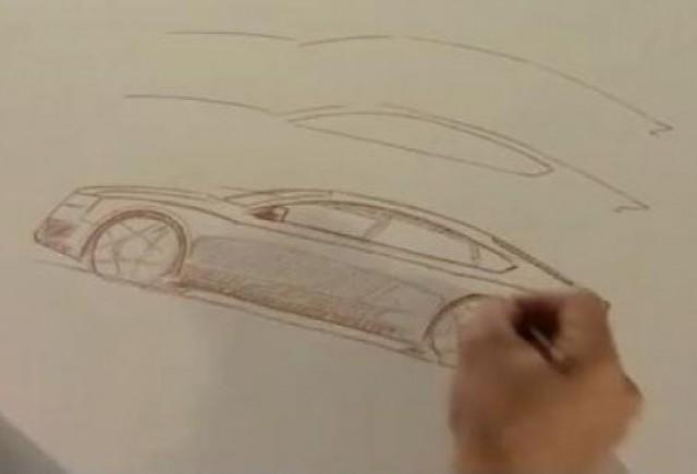 VIDEO: Designerul-sef Audi deseneaza noul A5 Sportback