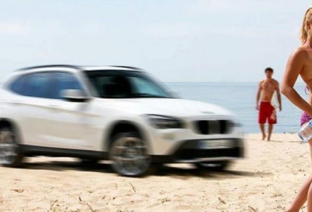 BMW a facut public un nou teaser cu X1