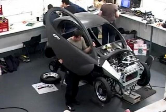 VIDEO: O masina construita pentru oras