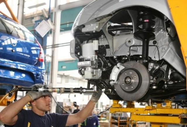 Productia auto a crescut in Romania