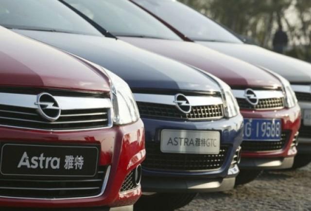 Chinezii ar putea cumpara o parte din Opel