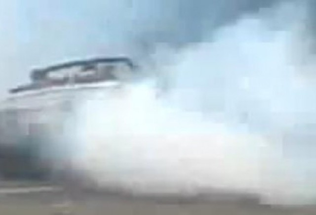 VIDEO: Drift-uri cu Rolls-Royce Phantom