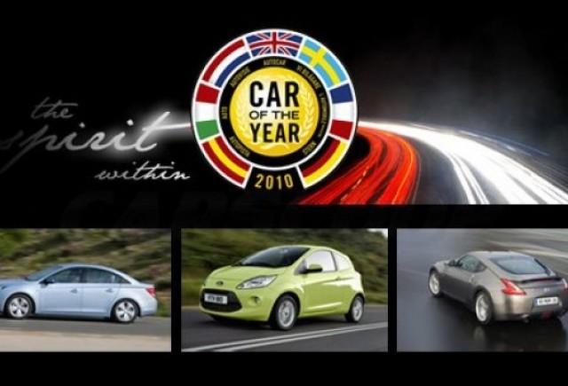 Masina Anului 2010: modelele nominalizate
