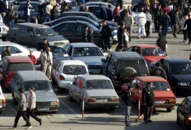 La Targul auto din Sibiu nu s-a vandut nicio masina