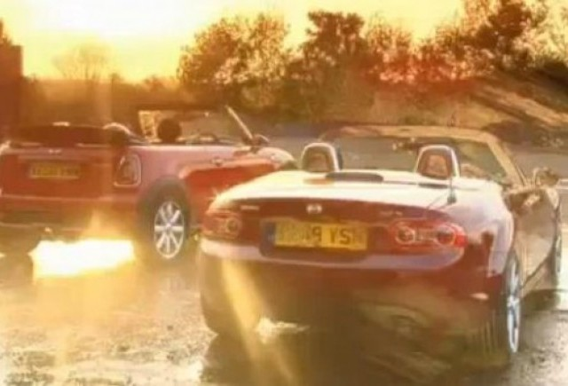 VIDEO: Mini Cooper S Cabrio vs Mazda MX5
