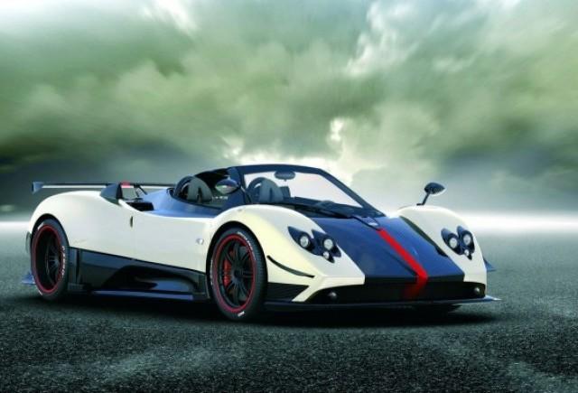 Pagani Zonda Cinque Roadster: 1.3 milioane euro