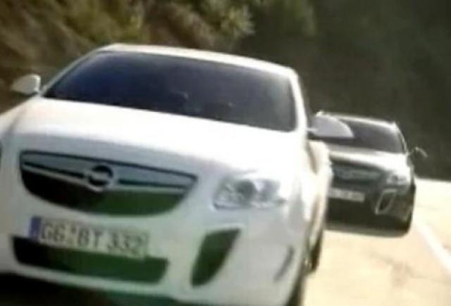 VIDEO Oficial: Opel Insignia OPC
