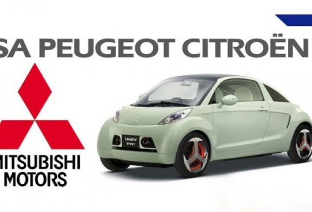 Peugeot-Citroen si Mitsubishi au incheiat un parteneriat pe segmentul hibrizilor