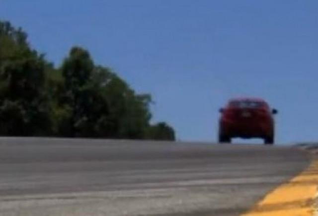 VIDEO: BMW X6 M pe circuit