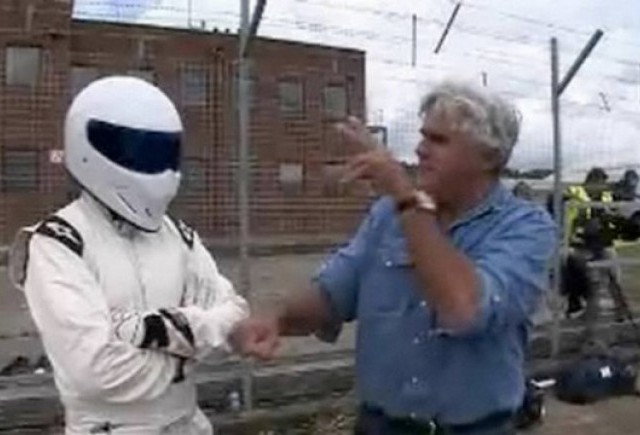 VIDEO: Jay Leno il intalneste pe Stig