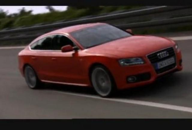 VIDEO: Audi A5 Sportback se prezinta
