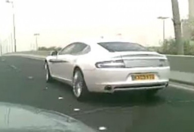 VIDEO: Aston Martin Rapide, spionat