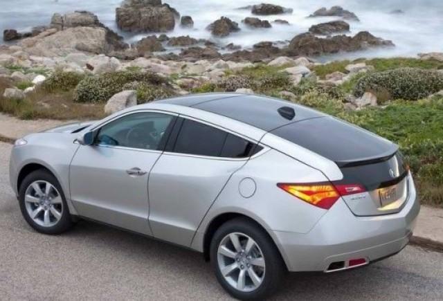 Acura ZDX- un X6 japonez