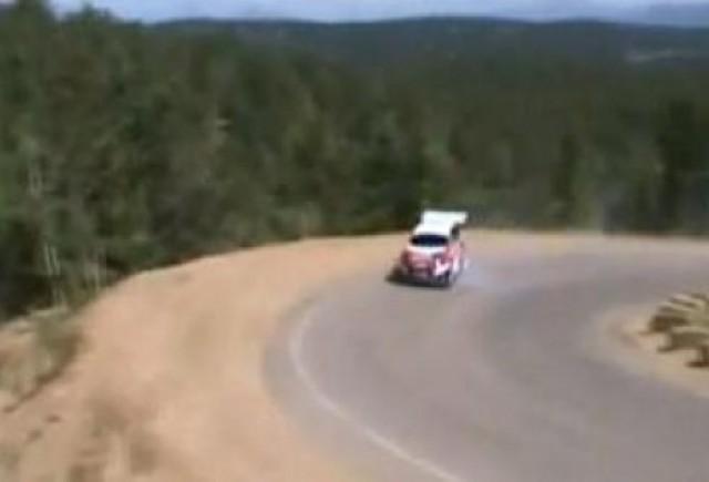 VIDEO: Ford Fiesta de 800 CP s-a rasturnat intr-un raliu
