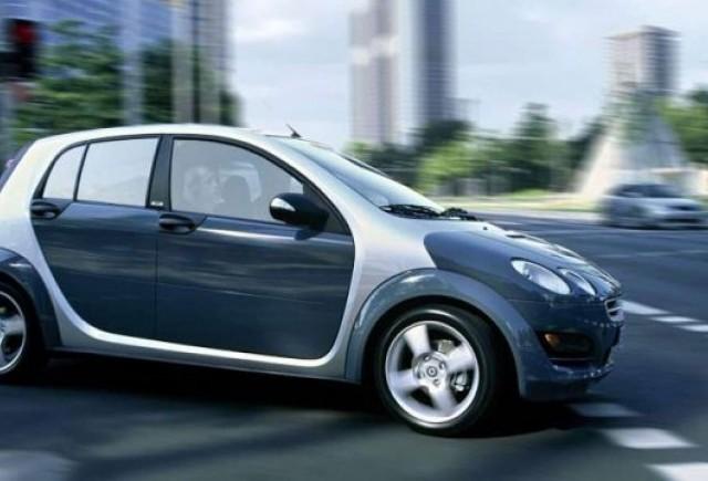 Smart ForFour ar putea renaste in baza unui intelegeri Daimler-Renault