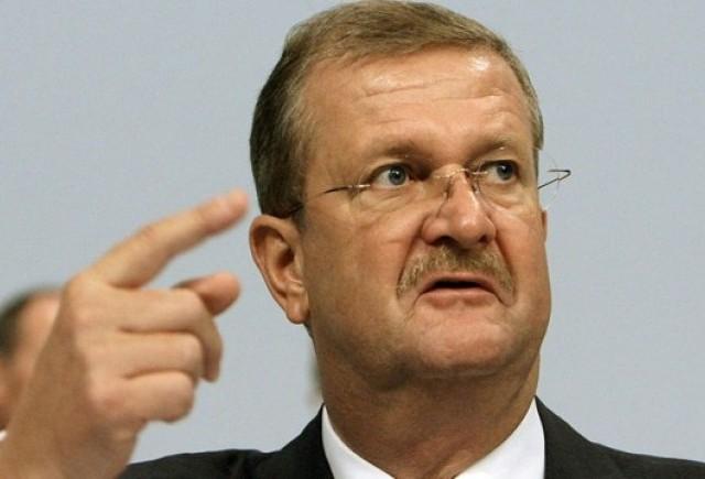 Wendelin Wiedeking, seful Porsche, a fost demis