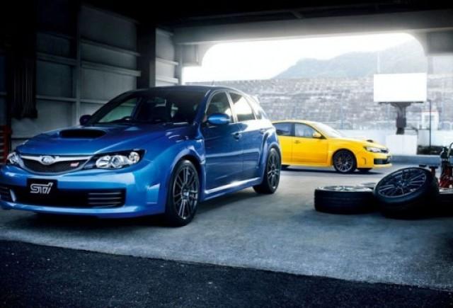 Un nou Subaru Impreza: WRX STI spec C