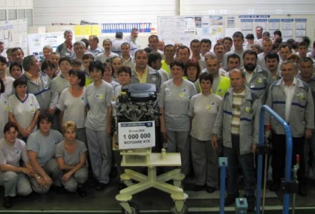 Dacia a produs  un milion de motoare pe benzina