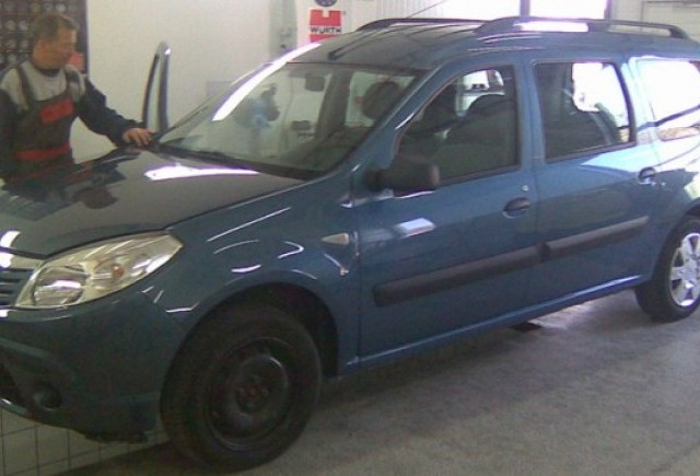 Iata cum arata Dacia Sandero MCV!