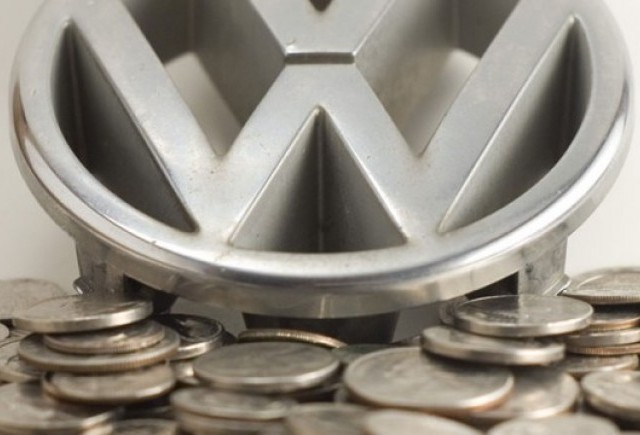 Volkswagen creste pe timp de criza
