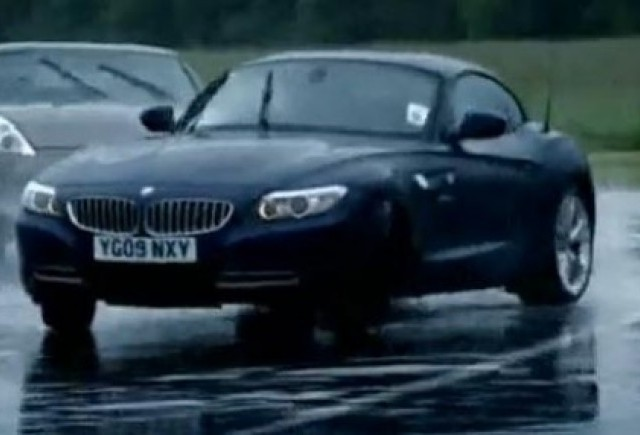 VIDEO: Top Gear confrunta BMW Z4 cu Nissan GT-R
