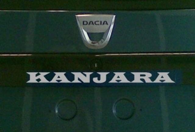Renault a inregistrat oficial numele Kanjara