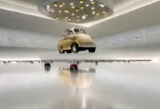 VIDEO: Campanie de imagine la BMW Isetta