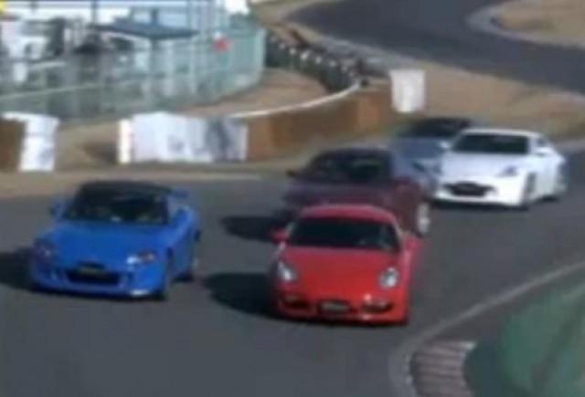 VIDEO: Cursa intre gigantii vitezei