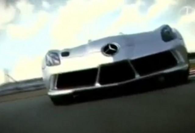VIDEO: Mercedes McLaren SLR Stirling Moss