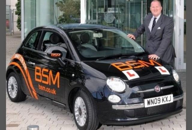 Fiat 500 devine masina-scoala
