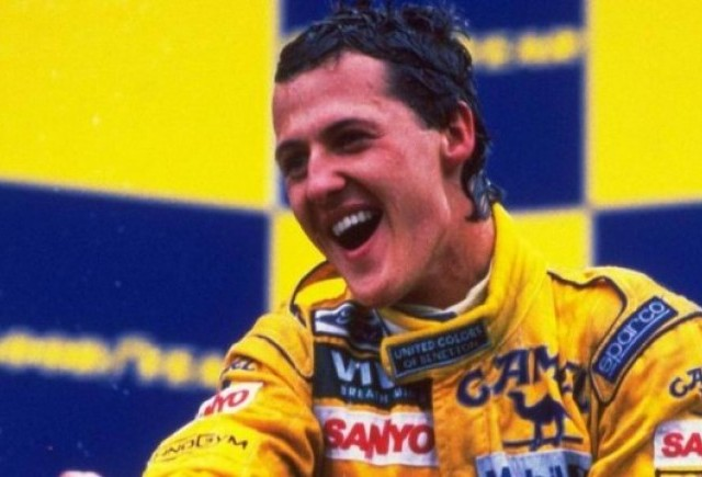 VIDEO: Prima cursa castigata de Schumacher