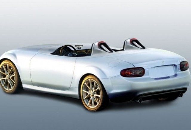 Mazda MX-5 Superlight, premiera la Frankfurt