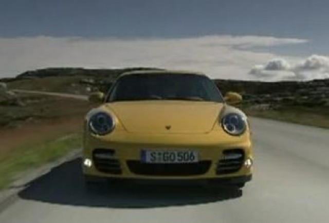 Primul video cu noul Porsche 911 Turbo
