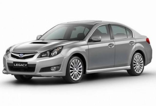 Subaru Legacy si Outback debuteaza la Frankfurt