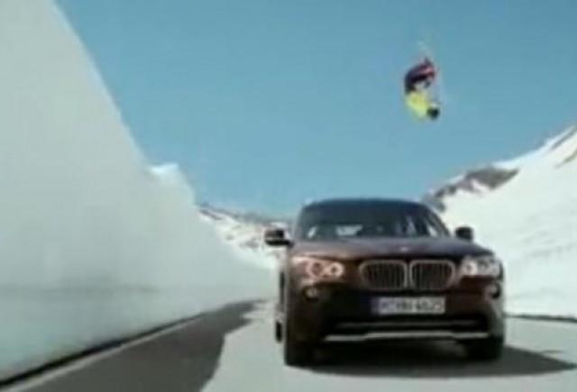 VIDEO: Cum se promoveaza BMW X1?