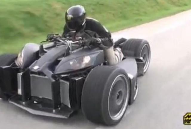 VIDEO: Cel mai puternic ATV din lume