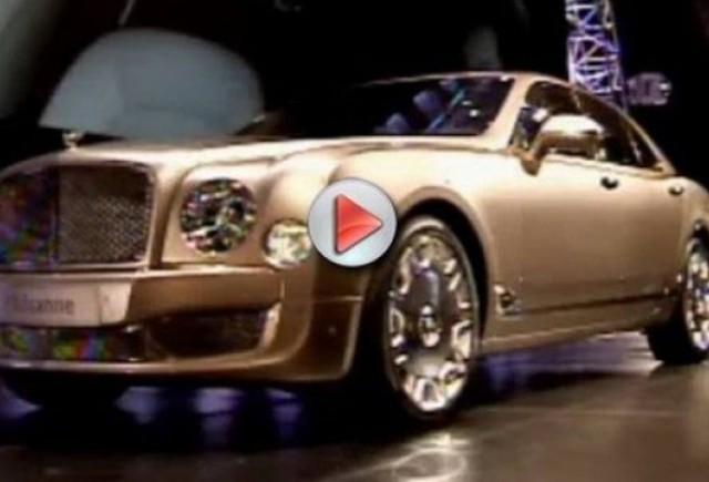 VIDEO: Primul Bentley Mulsanne vandut cu 500.000$!