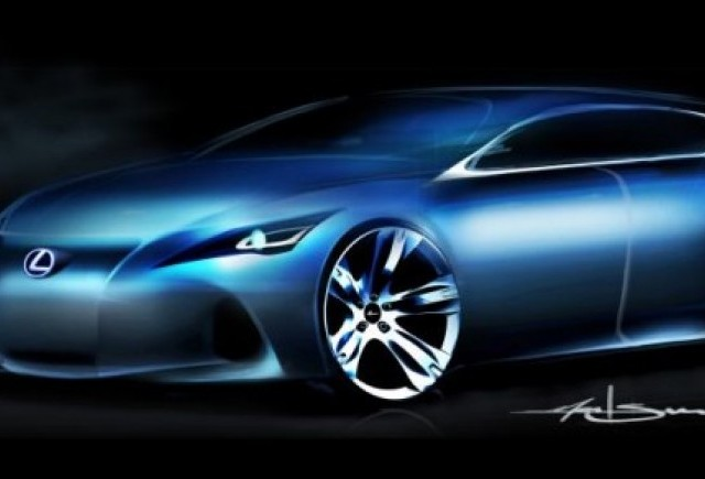 Lexus dezvaluie noul concept compact la Salonul Auto de la Frankfurt 2009
