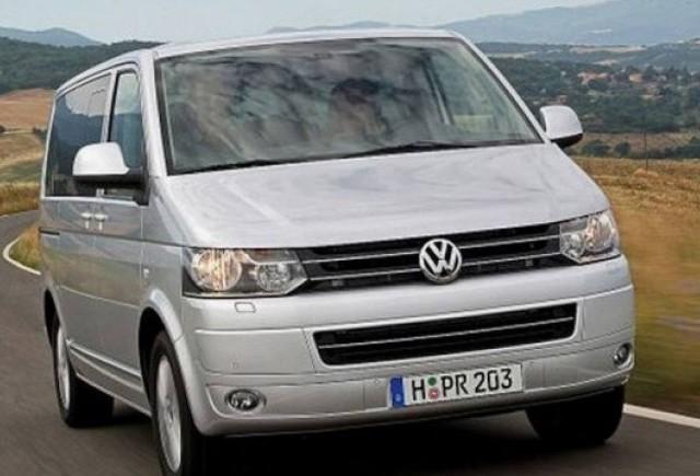 Primele imagini cu VW Transpoter facelift