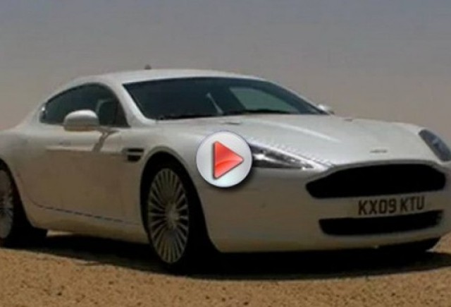 VIDEO: Aston Martin Rapide in Kuweit