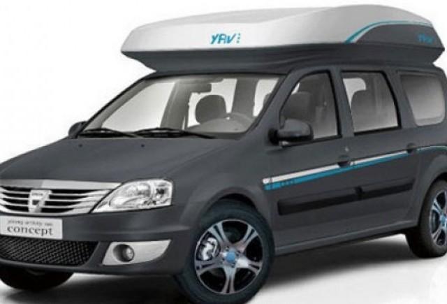 Dacia a creat un Logan MCV pentru turisti