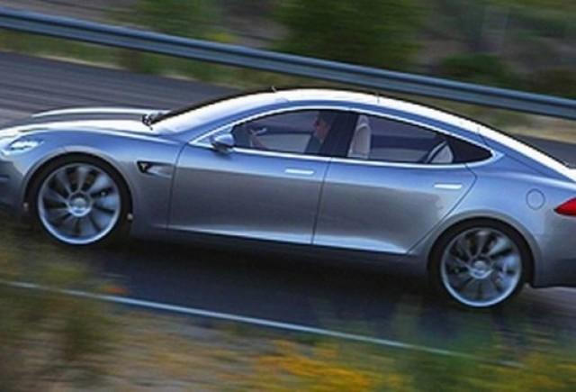 Tesla Model S- noi fotografii