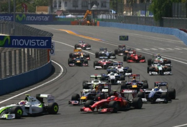 Castigatorii 'Pariaza pe Formula 1' Valencia